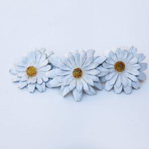 daisy hair barrette clip
