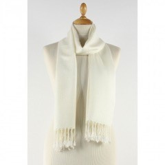 ivory scarf