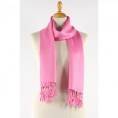 lipstick pink scarf
