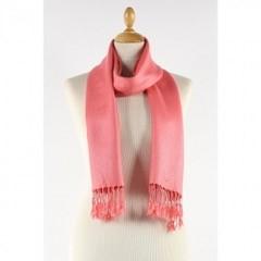 rose pink scarf