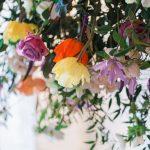 Floral wedding decoration urban tribal wedding photoshoot