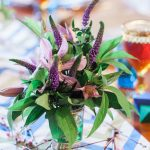 Floral wedding decoration by Ladybird Flowers