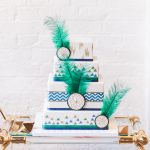 Urban tribal wedding cake by GC Couture