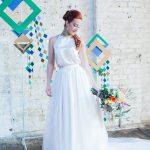 Urban tribal wedding photoshoot London