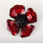 poppy brooch royal british legion poppy appeal