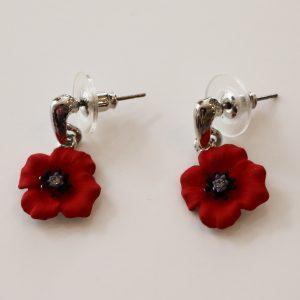 Poppy pin large | Beverley Edmondson Millinery