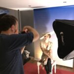 behind the scenes millinery photoshoot